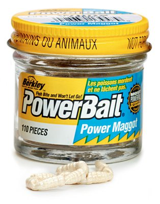Berkley PowerBait White Maggot